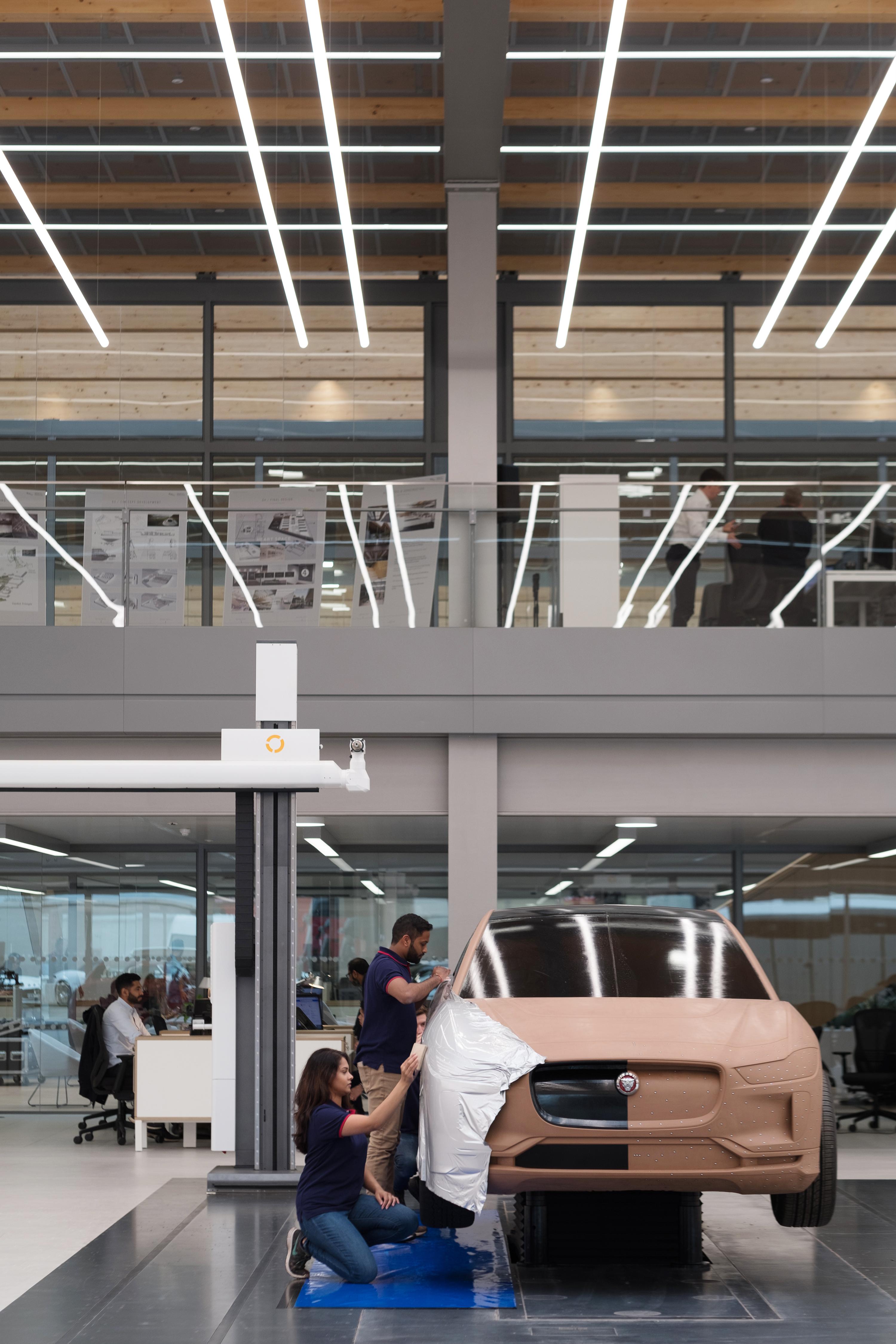 New Jaguar Design Studio Jaguar Opens The Doors To Its Heart And Future Jaguar Homepage International