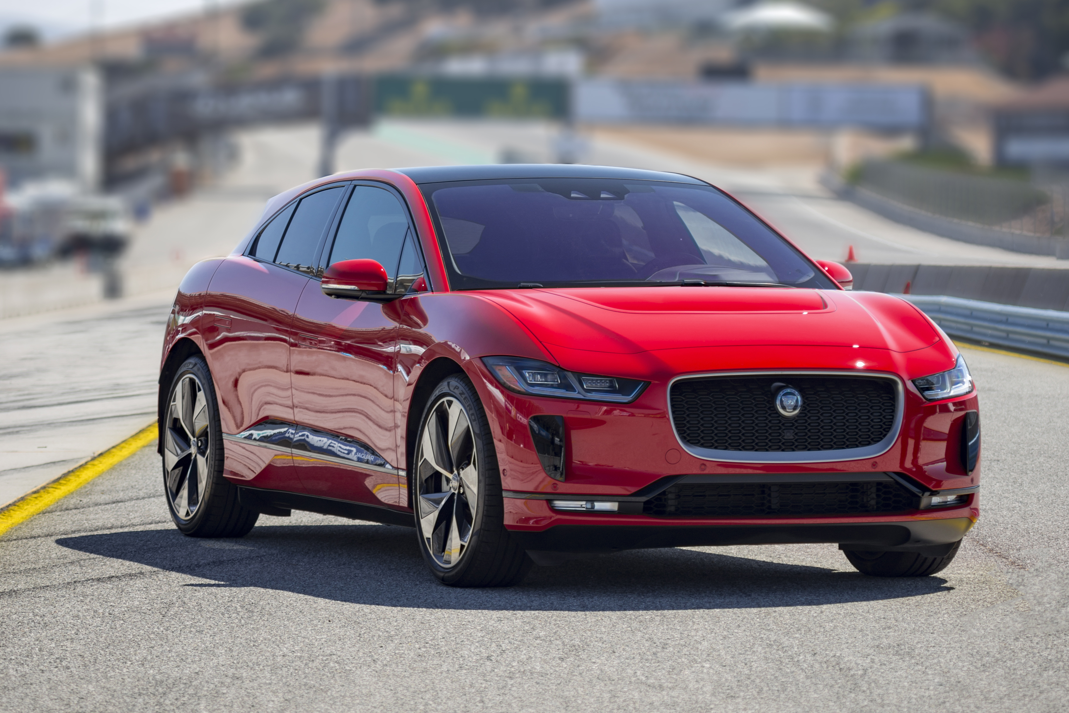 JAGUAR I-PACE SETS PRODUCTION EV RECORD LAP TIME AT WEATHERTECH RACEWAY  LAGUNA SECA AHEAD OF ROLEX MONTEREY MOTORSPORTS REUNION  Jaguar Homepage  International