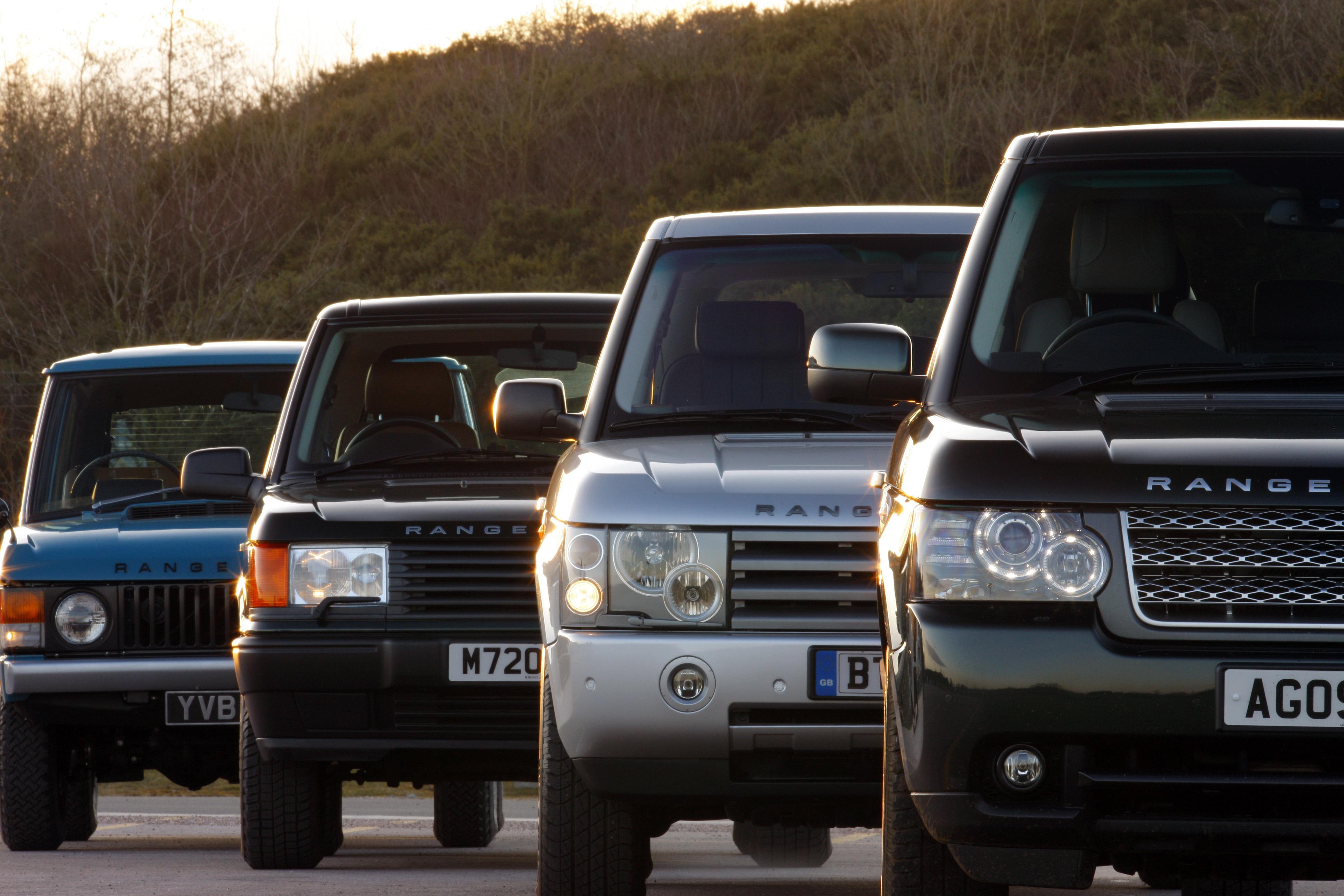 Range Rover Celebrates Its 40th Birthday | Land Rover International Homepage