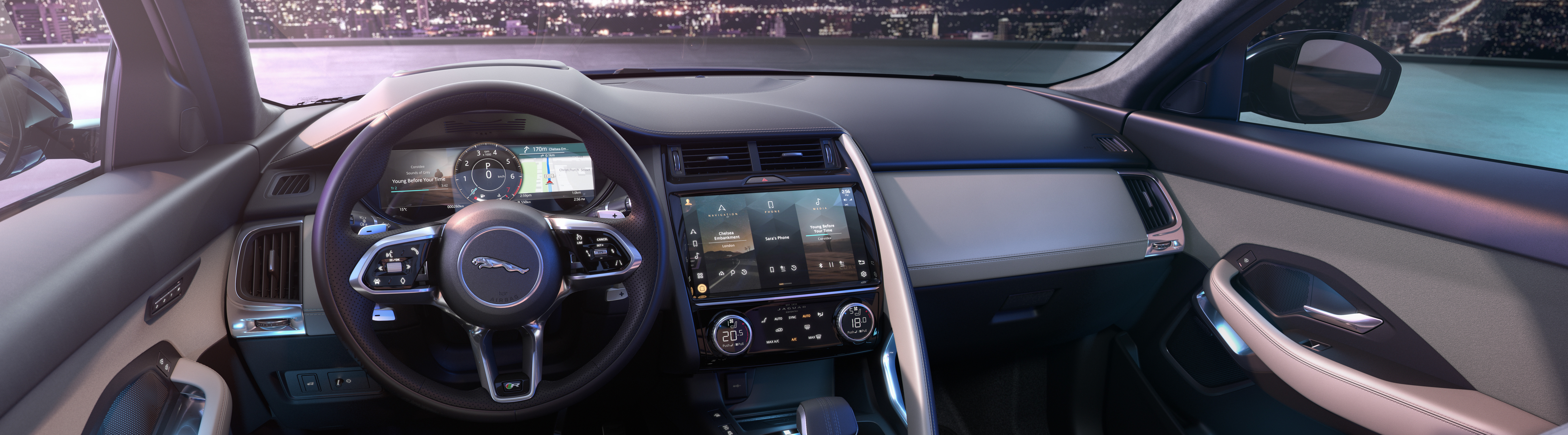 NEW JAGUAR E-PACE INTERIOR IMAGE