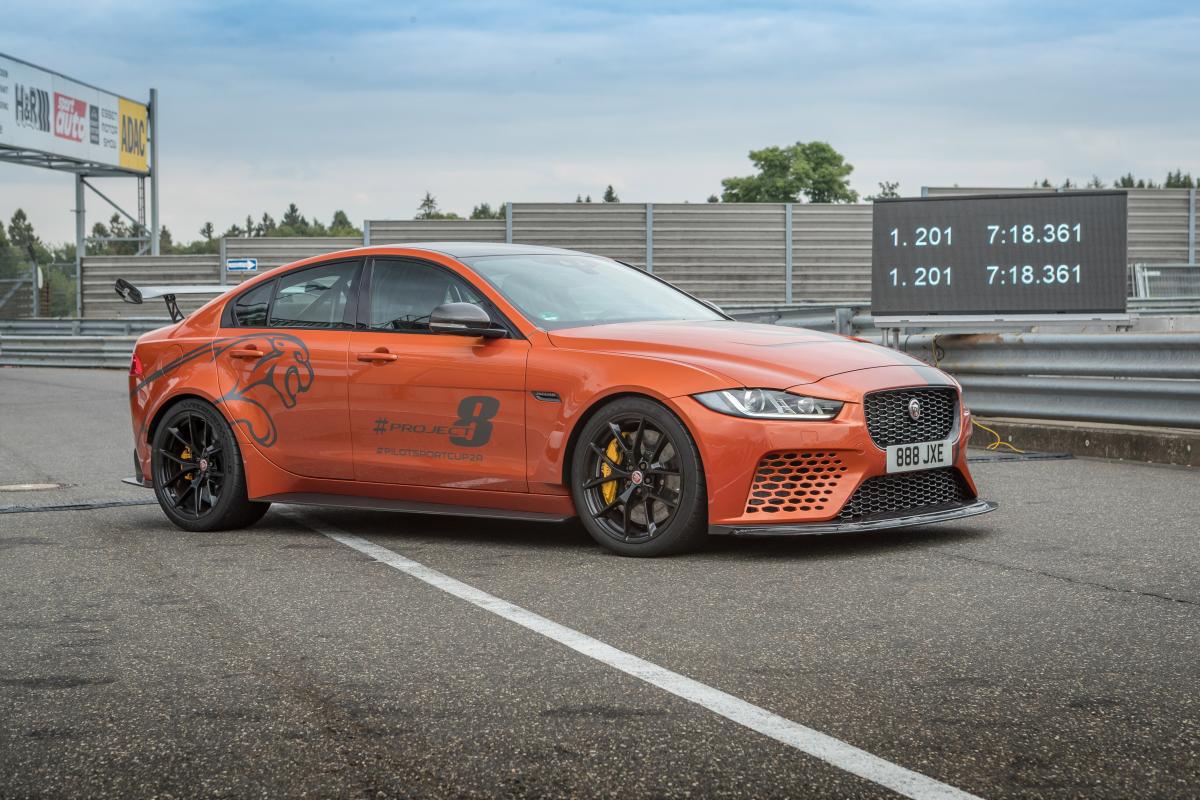 Jaguar Project 8 19MY Nurburgring Record 2019