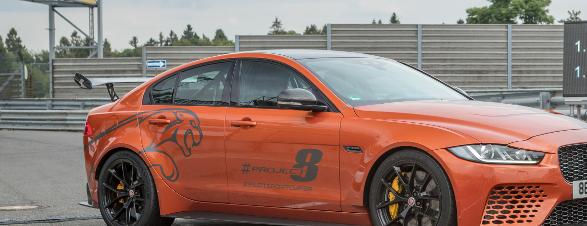 Jaguar XE SV Project 8 unterbietet eigenen Rundenrekord auf der legendären Nürburgring-Nordschleife