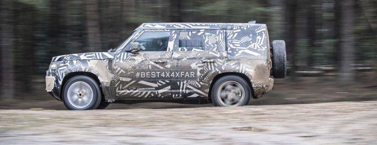 Jaguar Land Rover mit zahlreichen High-Performance-Cars und dem neuen Land Rover Defender am Start