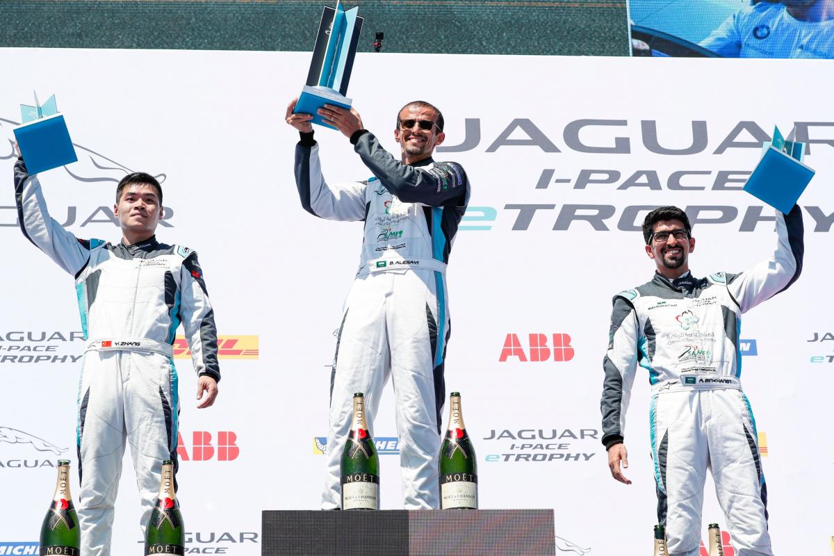 一站双赛 激战纽约 2018_2019赛季Formula E及捷豹I-PACE eTROPHY杯完美收官1