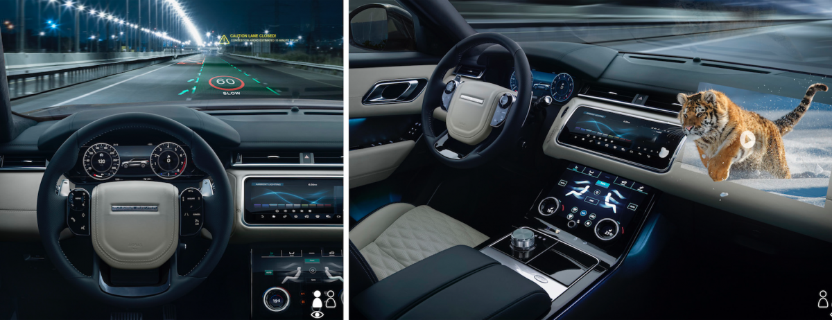 Jaguar Land Rover develops immersive 3D in-car experience with heads-up display research