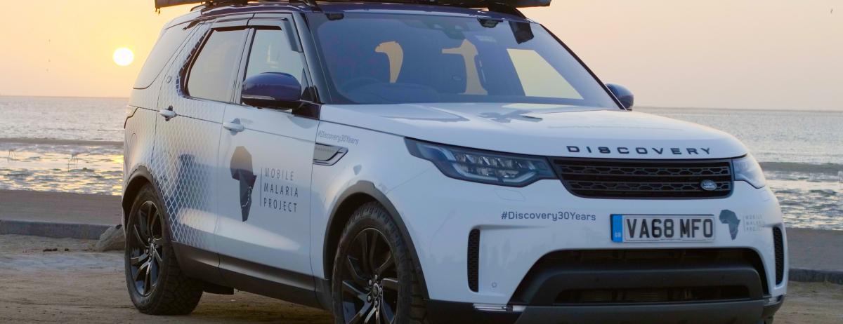 Land Rover Discovery bringt als rollendes Labor in Afrika den medizinischen Fortschritt voran