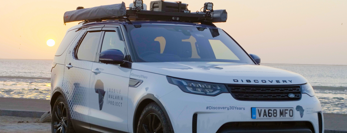 Land Rover Discovery powers mobile malaria research