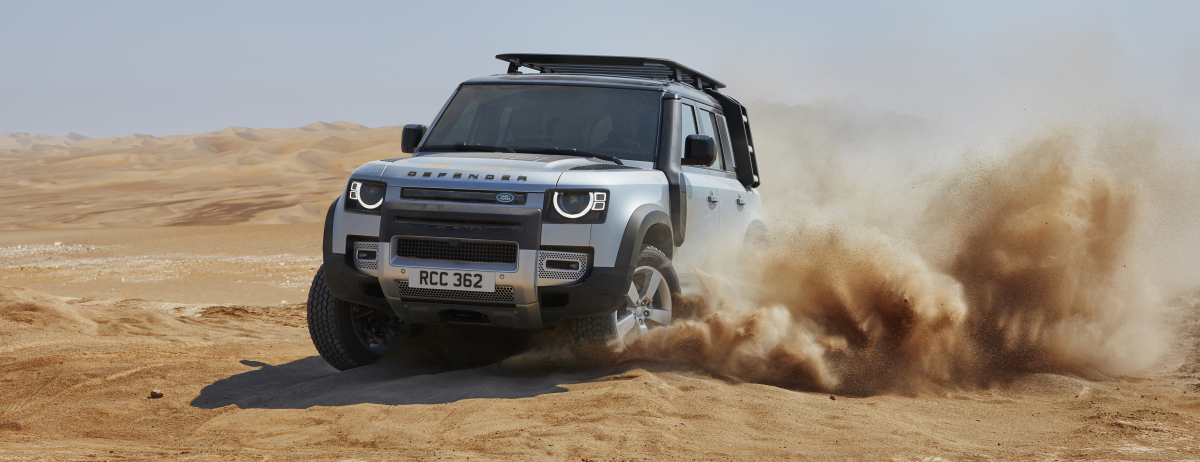 OFF-ROAD CAPABILITY: THE NEW LAND ROVER DEFENDER 110