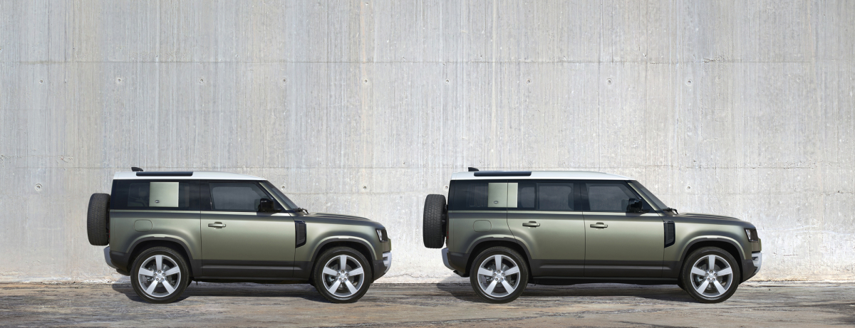 The new Land Rover Defender- Static