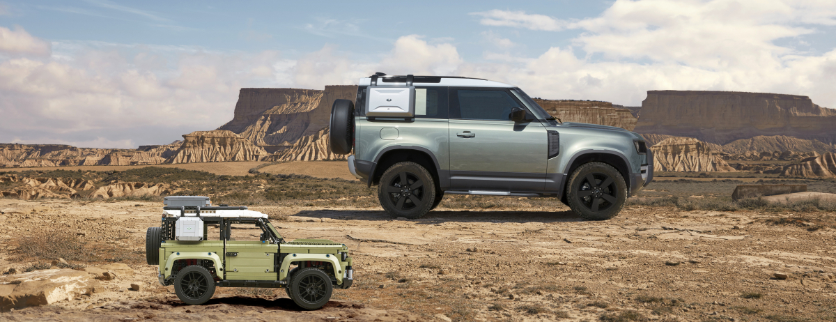 LAND ROVER ANNOUNCES MUSTO AND LEGO PARTNERSHIPS AT NEW DEFENDER WORLD PREMIERE