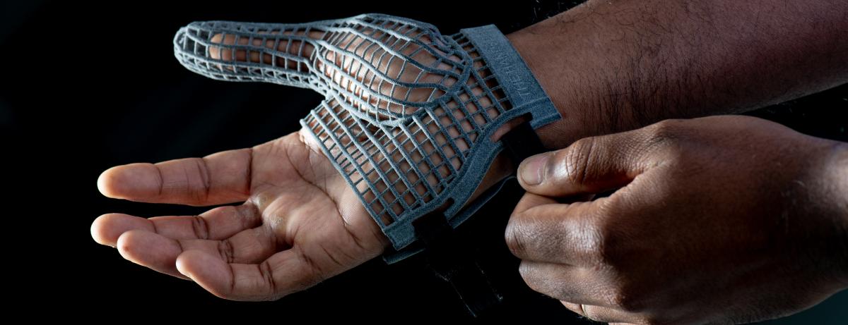 3D Printed Glove