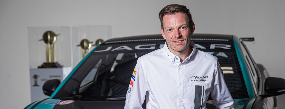 MARK TURNER ANNOUCED AS NEW JAGUAR I-PACE eTROPHY CHAMPIONSHIP MANAGER