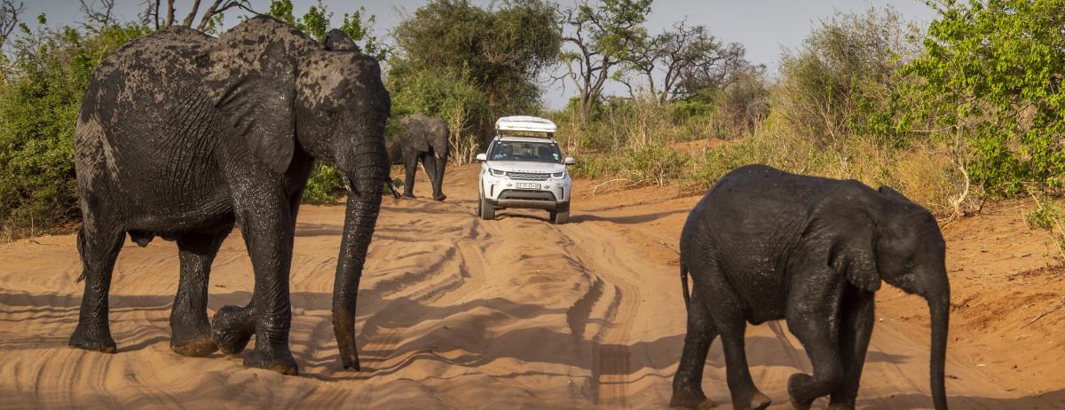 """Land Rover Experience Tour 2019:  Einzigartige Abenteuerreise durch die """"Seele Afrikas"""""""