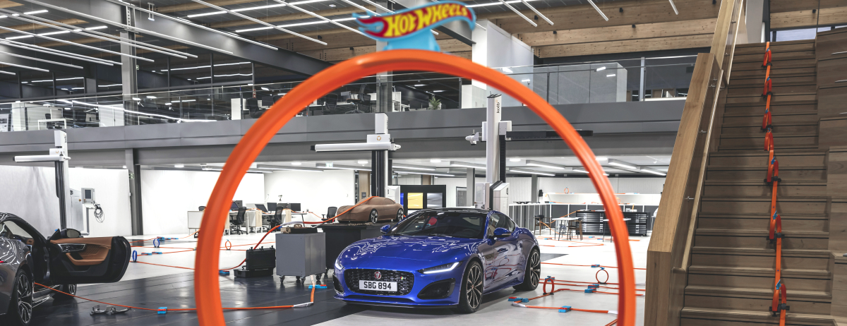 NEW JAGUAR F-TYPE REVEALED IN PARTNERSHIP WITH HOT WHEELS