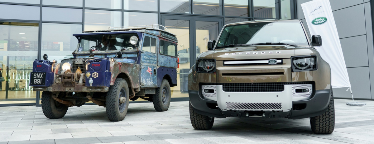 """La Spedizione """"Last Overland"""" visita lo stabilimento Jaguar Land Rover in Slovacchia ed incontra la nuova Defender"""