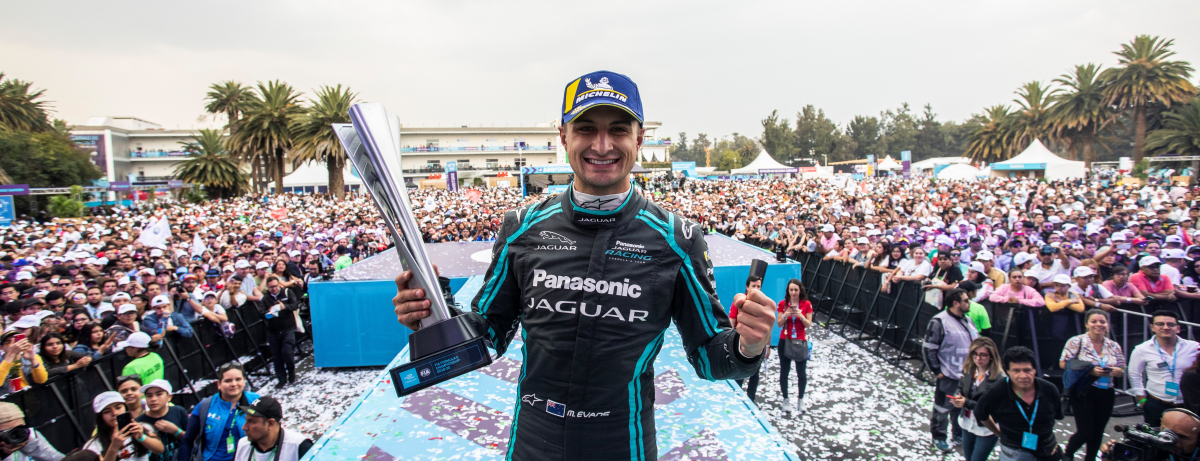 Panasonic Jaguar Racing - Mexico City E-Prix 2020 - Mitch Evans