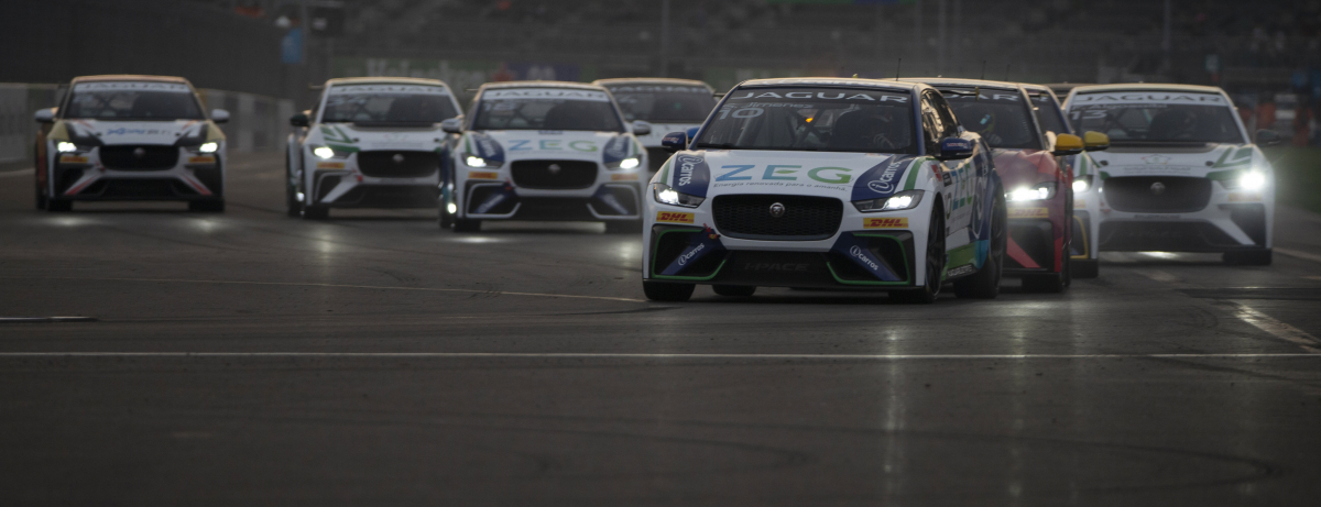 SÉRGIO JIMENEZ TAKES JAGUAR I-PACE eTROPHY SERIES LEAD IN MEXICO