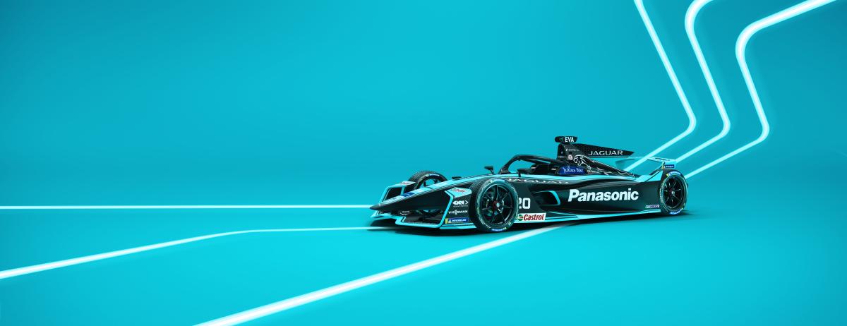 Panasonic Jaguar Racing Gen2 EVO Concept Livery