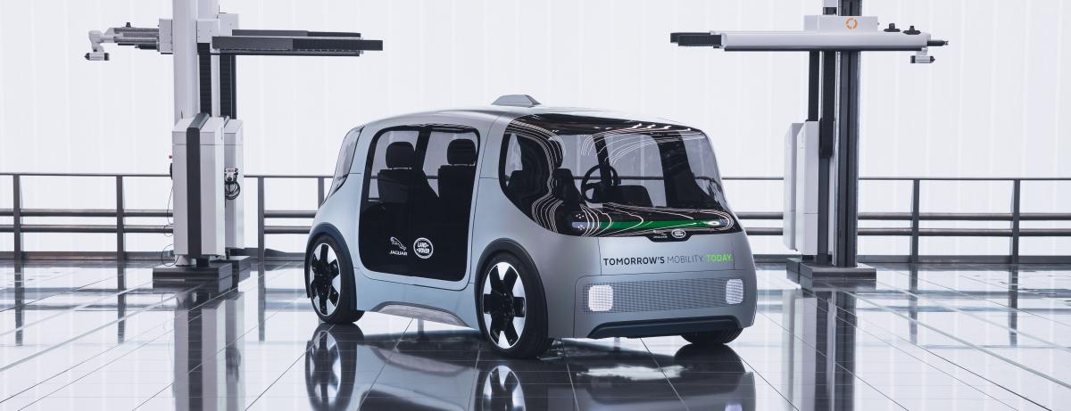 """Jaguar Land Rover zeigt mit Concept Car """"Project Vector"""" zukunftsweisendes Mobilitätskonzept für die City"""