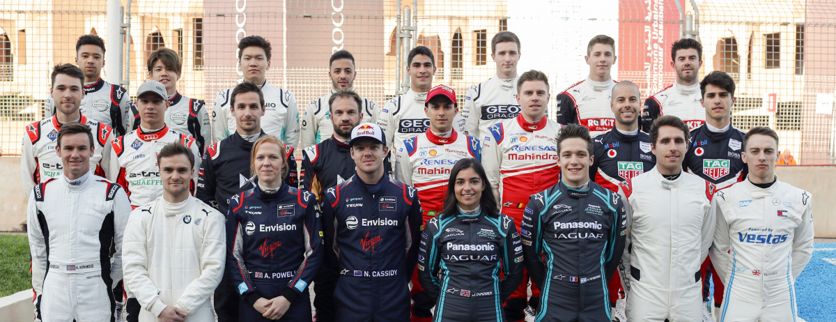 JAMIE CHADWICK AND SACHA FENESTRAZ COMPLETE SUCCESSFUL ROOKIE TEST IN JAGUAR I-TYPE 4 FOR PANASONIC JAGUAR RACING IN MARRAKESH