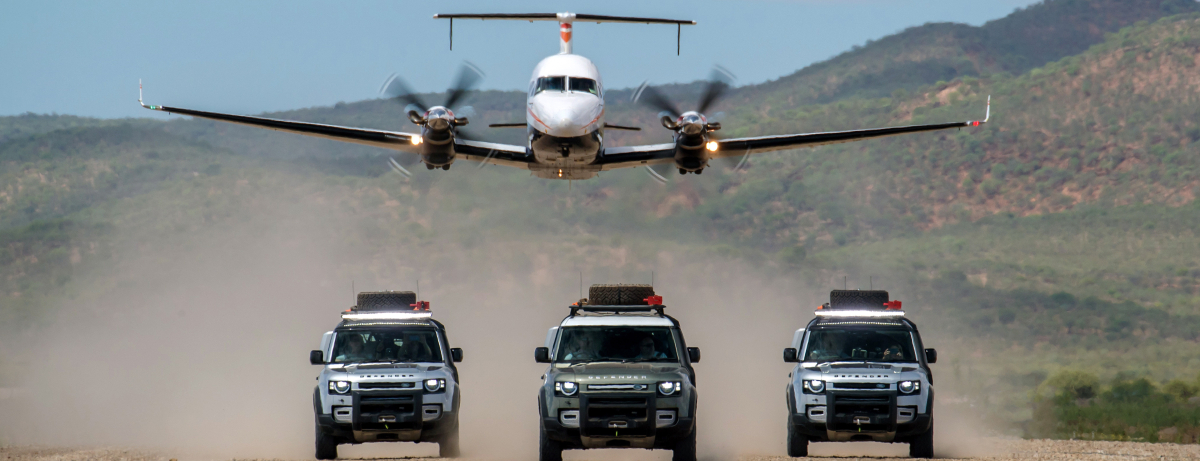 New Defender - Namibia - On-Road