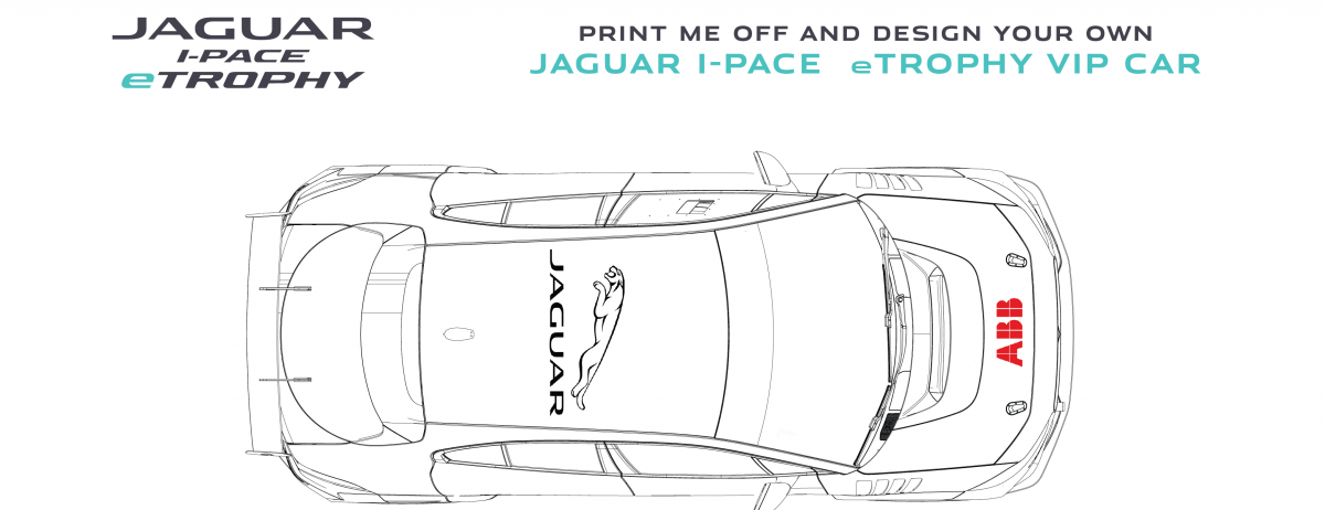 Design your own Jaguar I-PACE eTROPHY