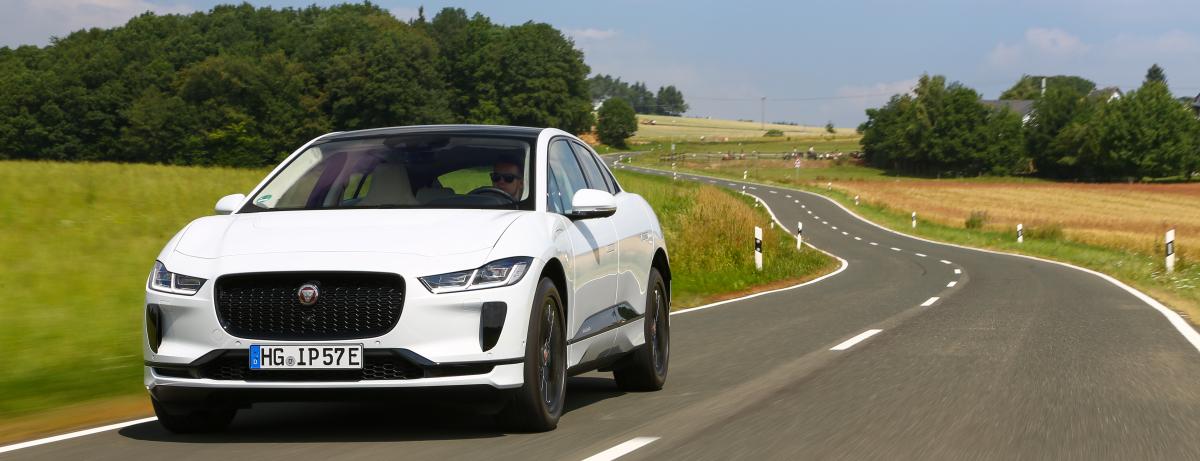 Jaguar I-PACE EV400 S erhält Umweltbonus für rein elektrisch angetriebene Fahrzeuge