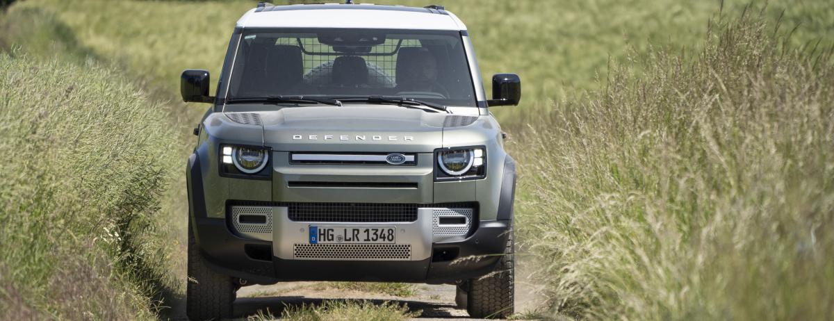 """Leser von AUTO BILD ALLRAD wählen den neuen  Land Rover Defender zum """"Allradauto des Jahres 2020"""""""