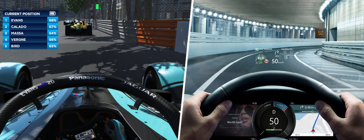 INFOGRAPHIC - DIGITAL VISION TECHNOLOGY SIGNALS ON-TRACK SUCCESS FOR PANASONIC JAGUAR RACING