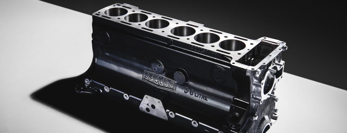 JAGUAR CLASSIC REINTRODUCES 3.8-LITRE XK ENGINE BLOCK