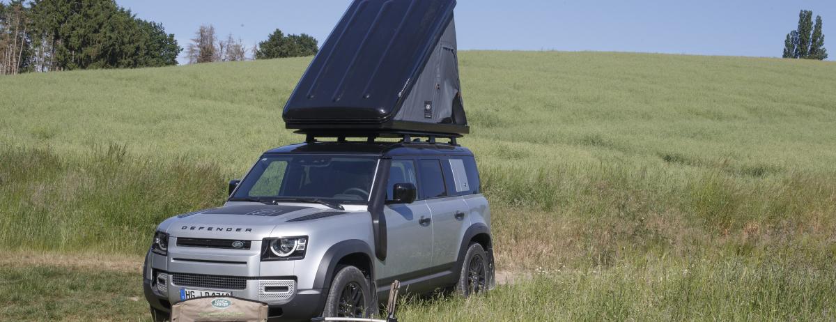 Urlaub mit Abenteuerfeeling zum Mieten: Land Rover bietet XXL-Probefahrten und Kurzurlaube mit dem neuen Defender an