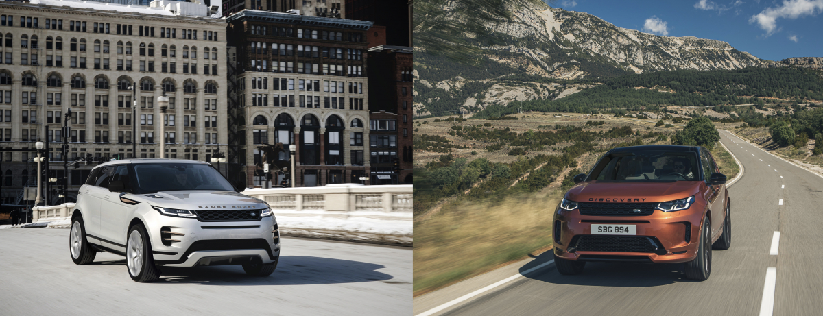 21MY EVOQUE AND DISCOVERY SPORT