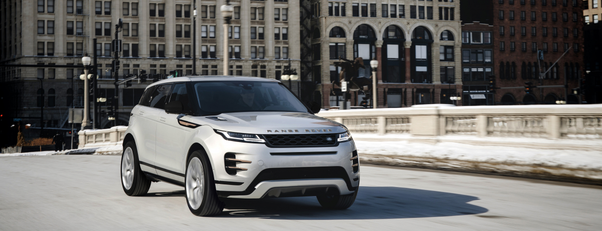 The 2021 Model Year Range Rover Evoque