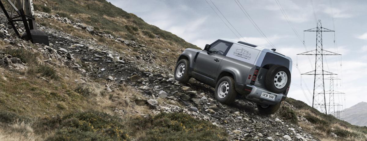 Land Rover Defender Hard Top 90