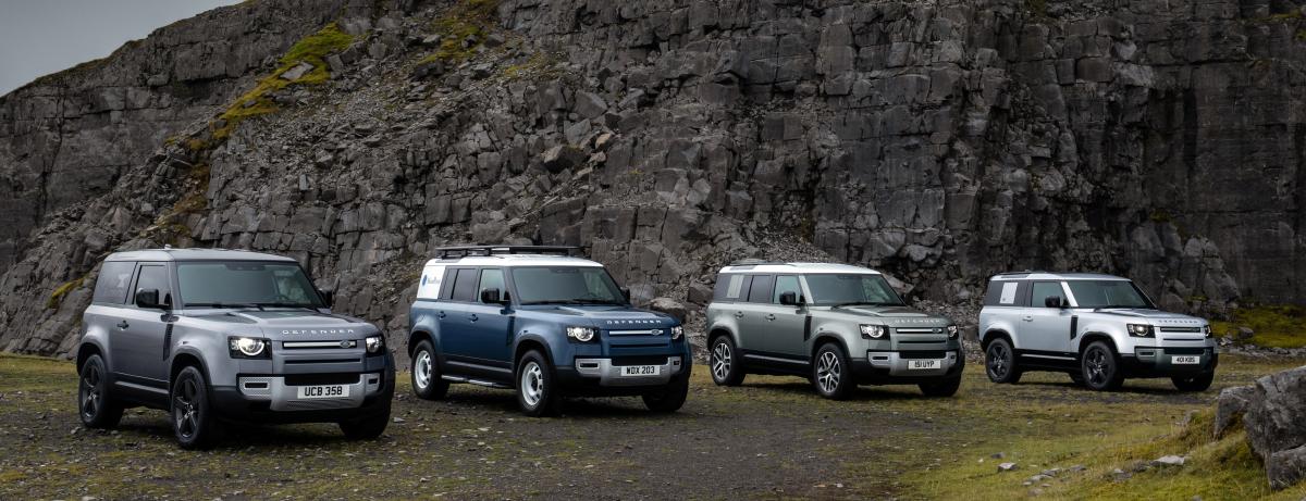Land Rover Defender Familie