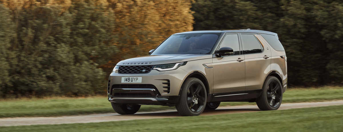 NEW LAND ROVER DISCOVERY R-DYNAMIC - DRIVING