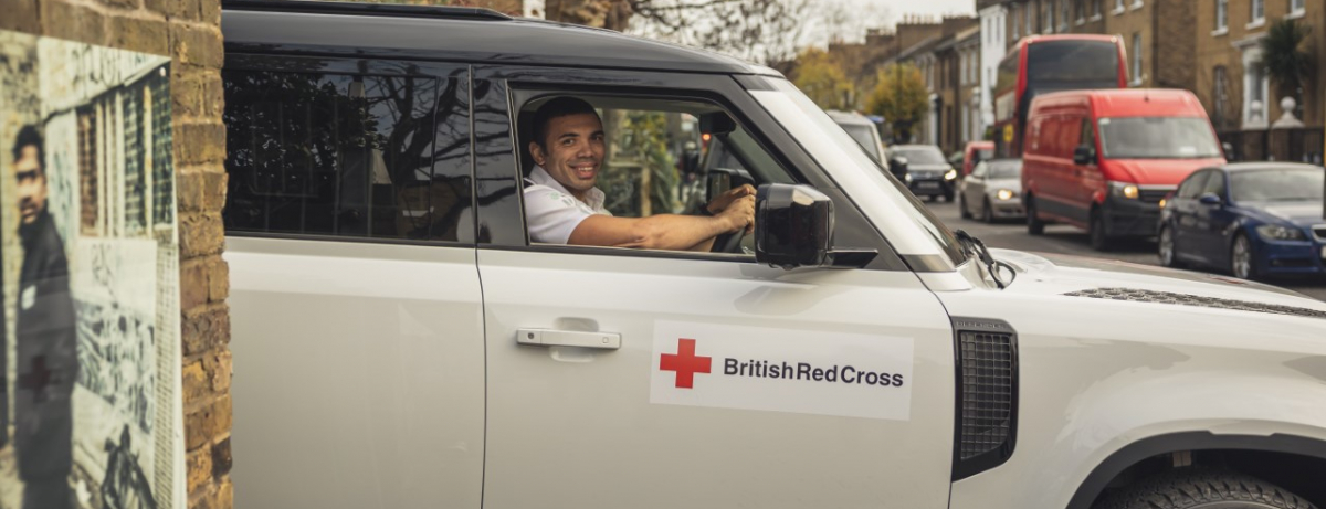 Rugby legend Bryan Habana joins Land Rover to help British Red Cross tackle impact of coronavirus crisis on World Volunteers Day