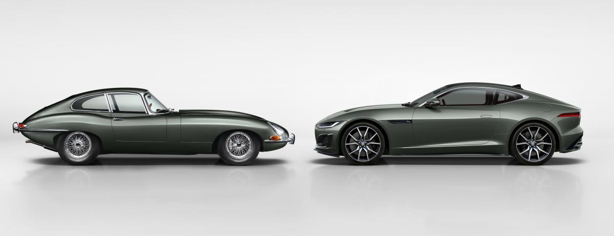 Jaguar feiert mit neuer F-TYPE Heritage 60 Edition im kommenden Jahr den 60. Geburtstag des legendären Jaguar E-type
