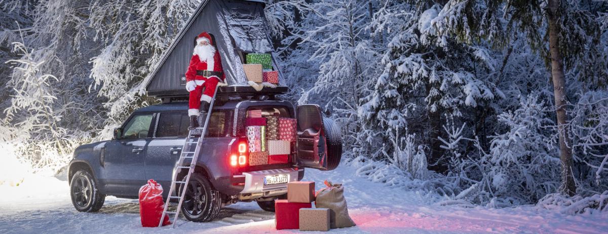 Der Weihnachtsmann wechselt erstmalig in der Geschichte seinen Schlitten