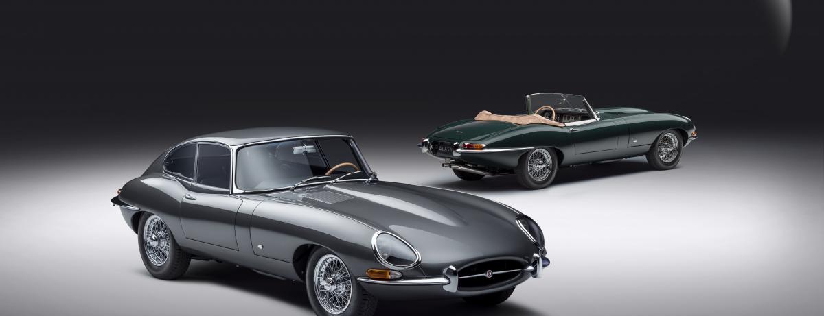 Jaguar Classic enthüllt die E-type 60 Collection:  Hommage zum 60. Geburtstag des ikonischen Sportwagens AGUAR CLASSIC ENTHÜLLT DIE E-TYPE 60 COLLECTION: HOMMAGE ZUM 60. GEBURTSTAG DES IKONISCHEN SPORTWAGENS