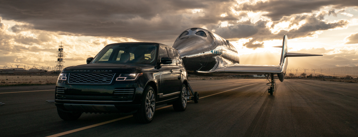 VIRGIN GALACTIC AND LAND ROVER ANNOUNCE GLOBAL PARTNERSHIP EXTENSION