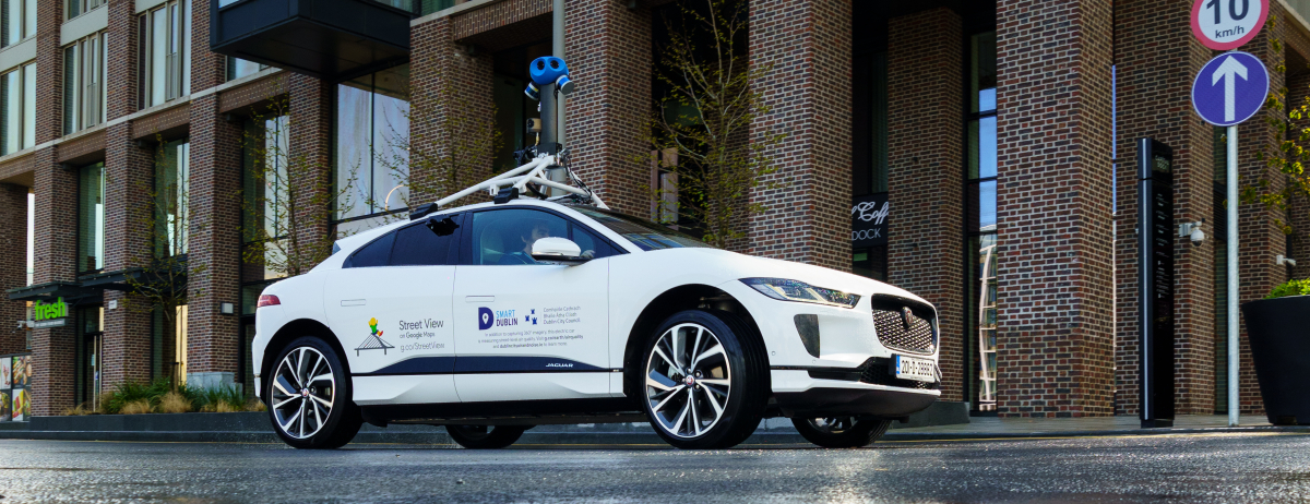 Jaguar I-PACE x Google Street 3