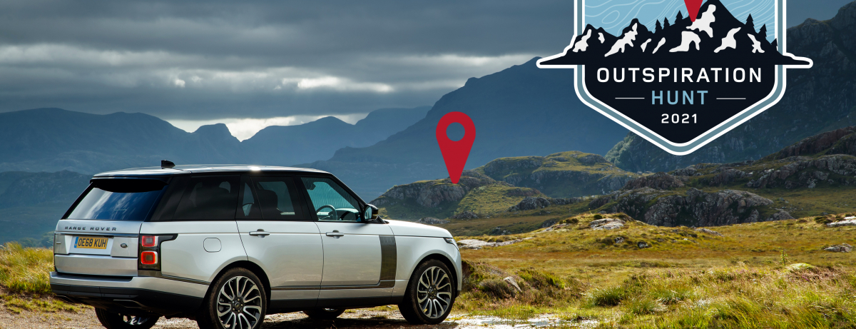 LAND ROVER UK LAUNCH NATIONWIDE #OUTSPIRATION HUNT TO ENCOURAGE PEOPLE TO RECONNECT WITH THE GREAT OUTDOORS
