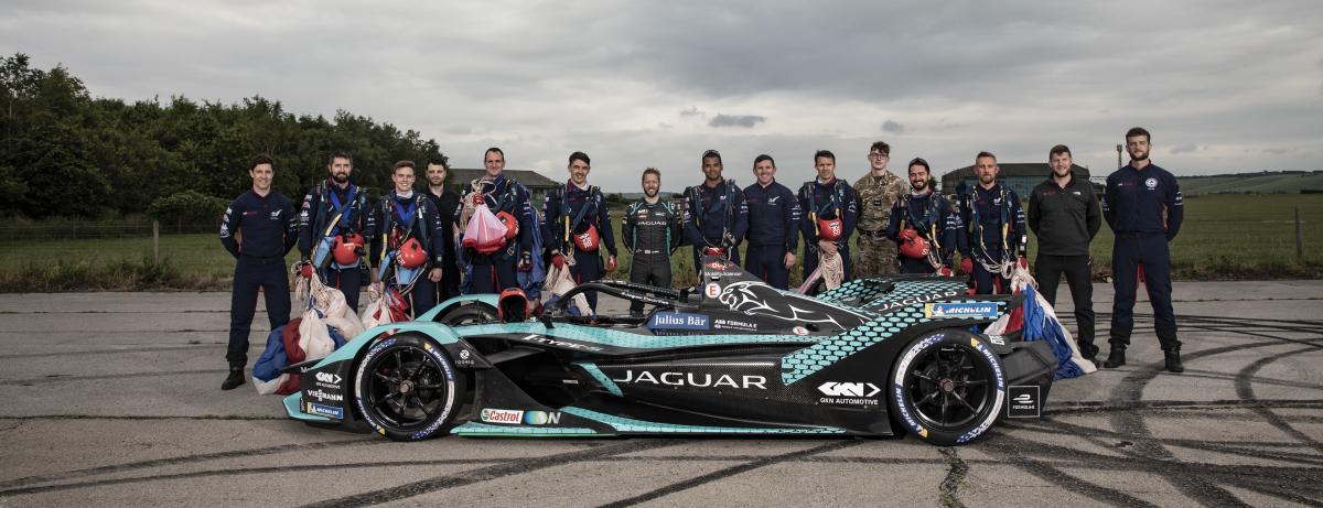 Jaguar Racing Bird x Falcons