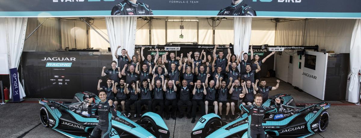 Jaguar Racing Team Photo