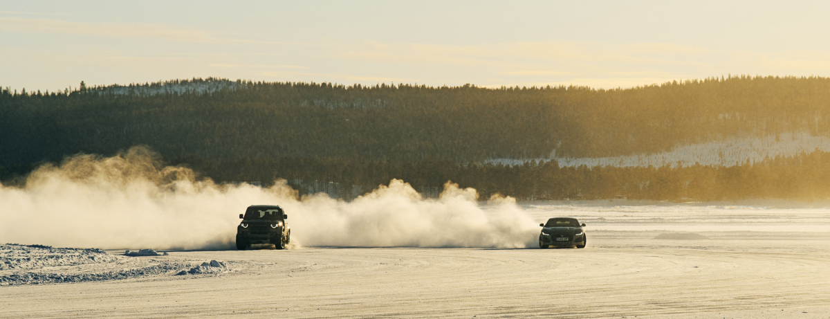 ULTIMATE ARCTIC ADVENTURES ON ICE WITH JAGUAR AND LAND ROVER