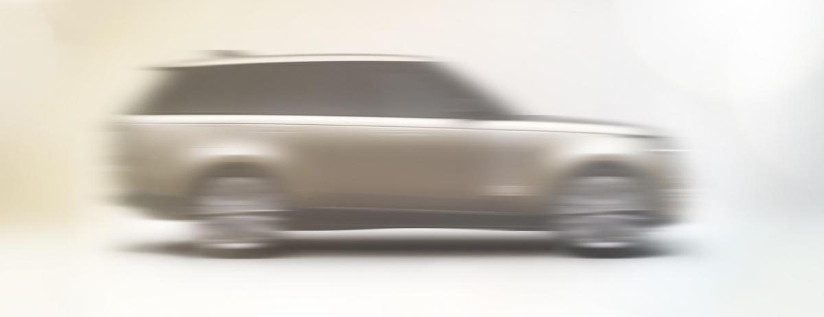 Land Rover gewährt einen ersten Blick auf den neuen Range Rover