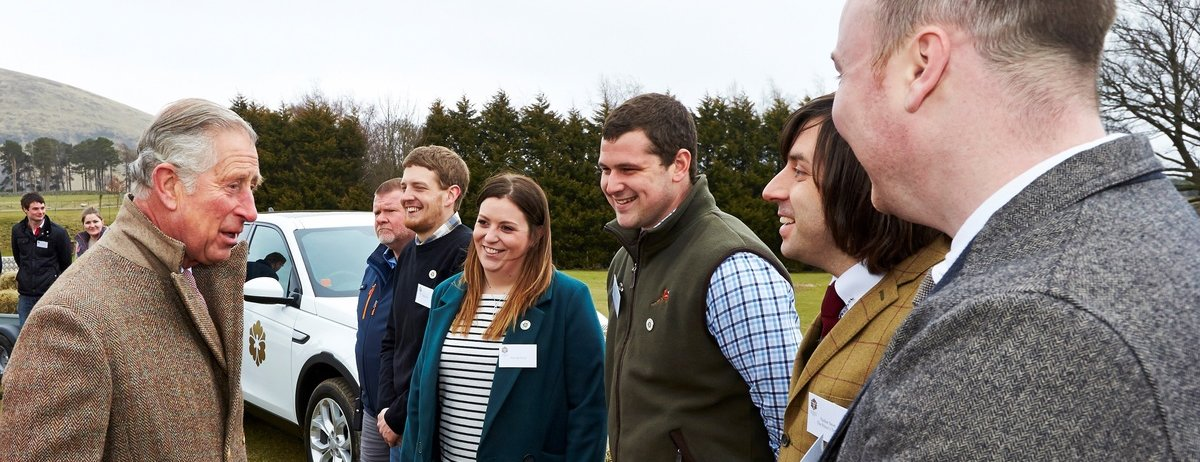 HRH The Prince of Wales supporting The Prince's Countryside Fund event in 2016