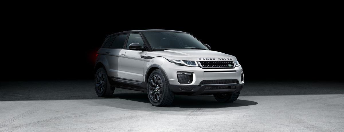 range rover evoque black edition