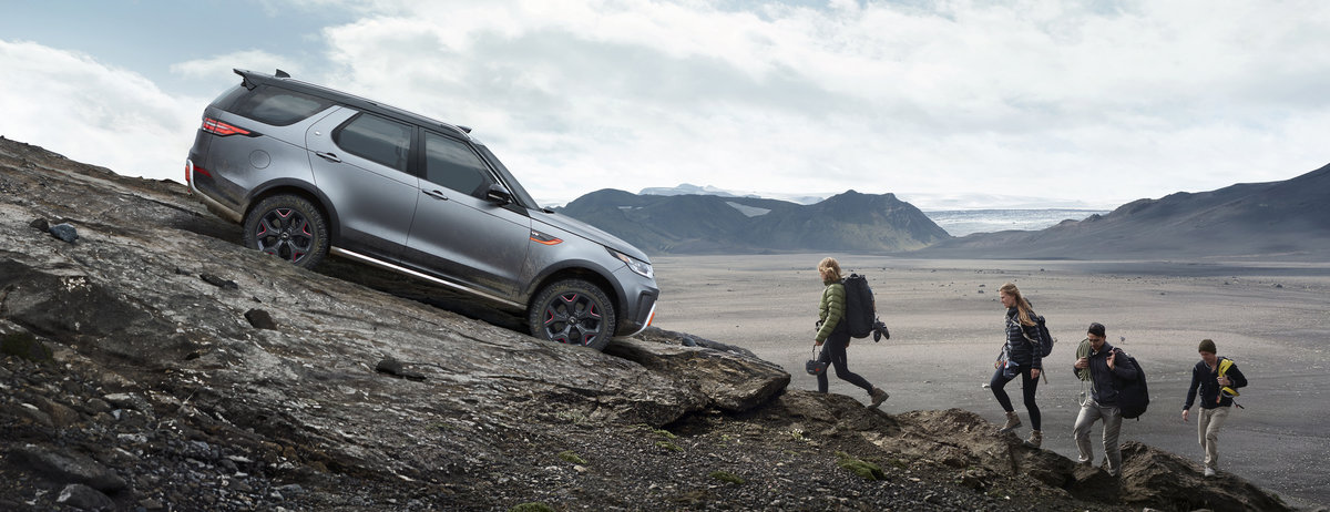 NEW DISCOVERY SVX - LAND ROVER REVEALS ALL-TERRAIN CHAMPION AT FRANKFURT IAA